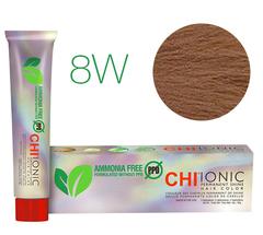 CHI Ionic 8W  (Средний теплый блондин) - стойкая краска для волос