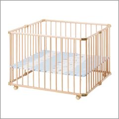 Кроватка-манеж Lucy Натуральный