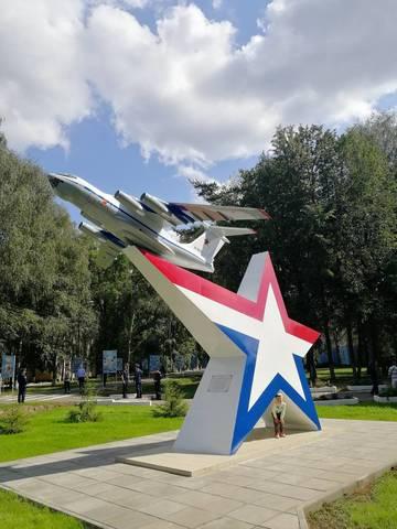 Модель самолета ИЛ-76  (ВКС России, Масштаб 1:10)
