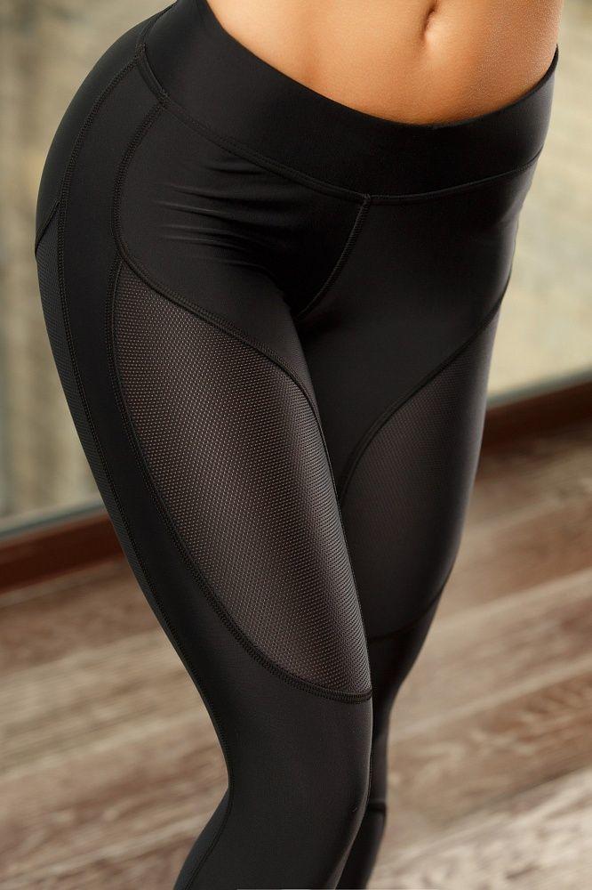 Женские лосины BF  Oy-Vsyo Leggins (Black)
