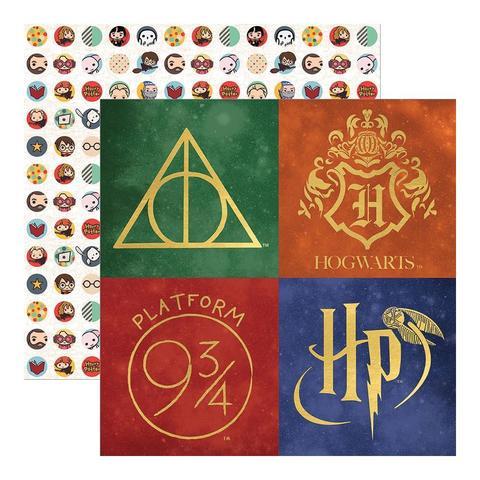 Лист 2-х сторонней бумаги 30х30 Harry Potter от Paper House
