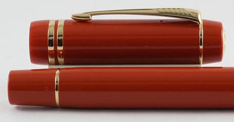 Перьевая ручка Parker Duofold Historical Colors Centennial F77 Big Red GT123
