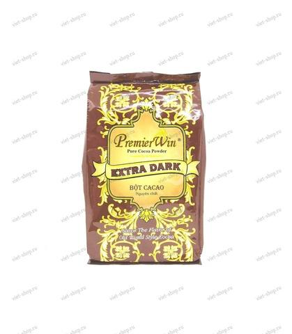 Вьетнамский какао PremierWin Extra Dark, какао 100%, 250 гр.