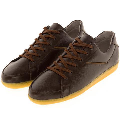 649396 полуботинки мужские Brown. КупиРазмер — обувь больших размеров марки Делфино