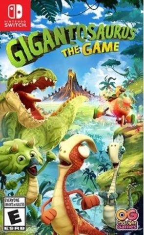 NS: Gigantosaurus: The Game (русская версия)