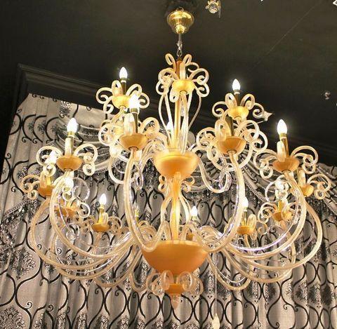murano chandelier ARTE DI MURANO 12-25  by Arlecchino Arts ( HK)