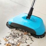 Механический веник Magic Sweeper собирает мусор, грязь, пыль с любо...