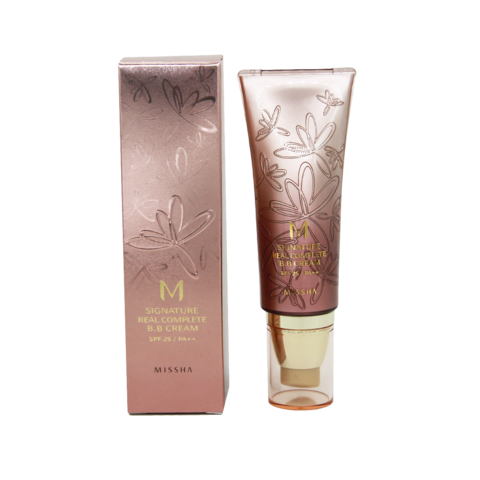 Тональный крем.ВВ крем Missha M Signature Real Complete Beight Milky (No.13), 45 мл
