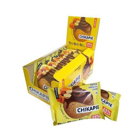 Протеиновое печенье Chikalab Арахис, 60 гр