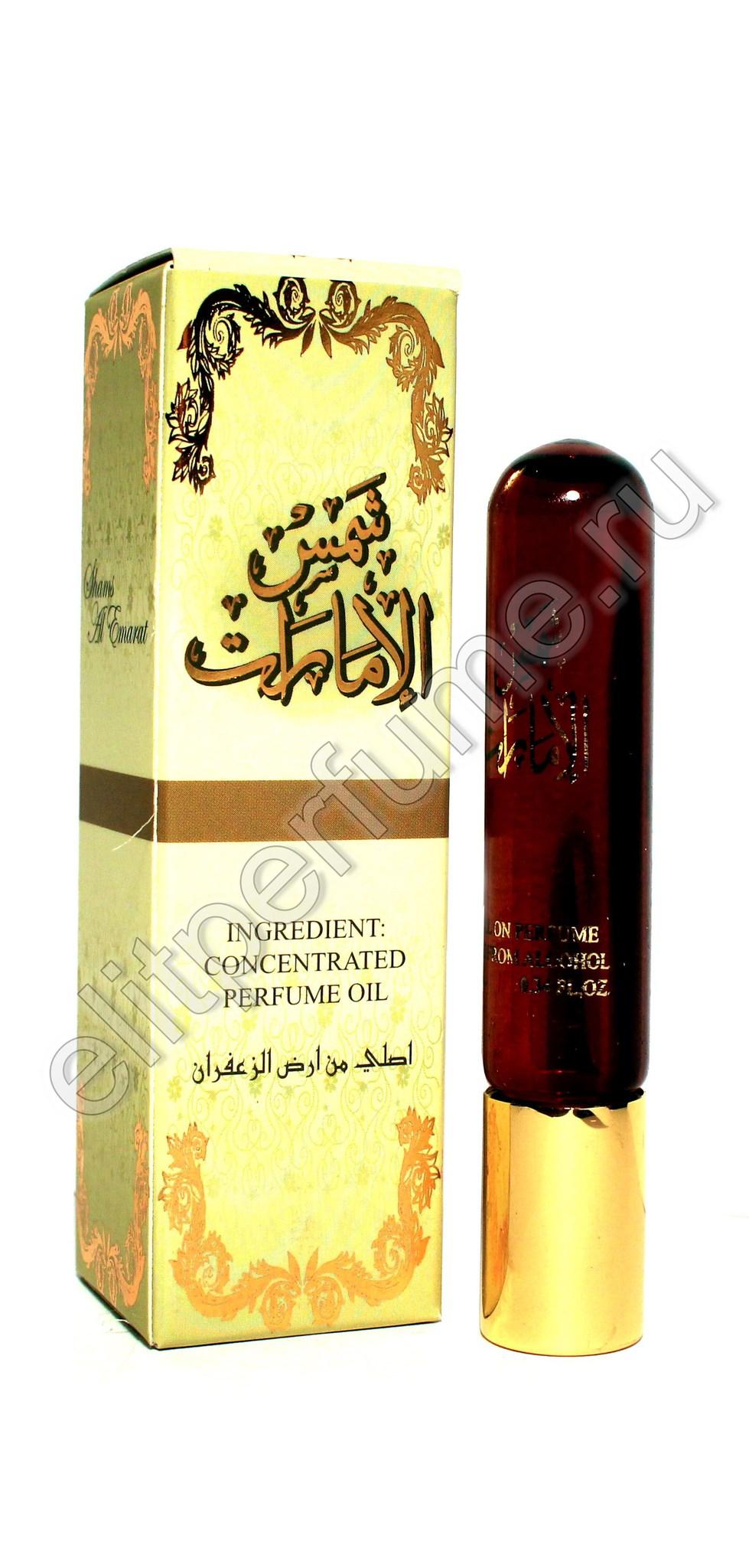 Shams Al Emarat Шамс Аль Эмарат 10 мл арабские масляные духи от Ард Аль Заафаран Ard Al Zaafaran