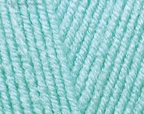 Пряжа Cotton BABY SOFT Alize Светло-бирюзовый 335