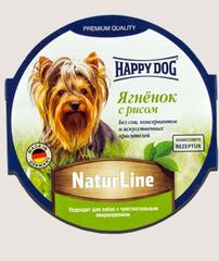 Паштет для собак Happy Dog Ягненок с рисом