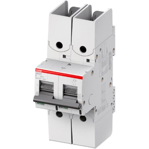Автоматический выключатель 2-полюсный 80 А, тип  UCB, 25 кА S802S-UCB80-R. ABB. 2CCS862002R1805