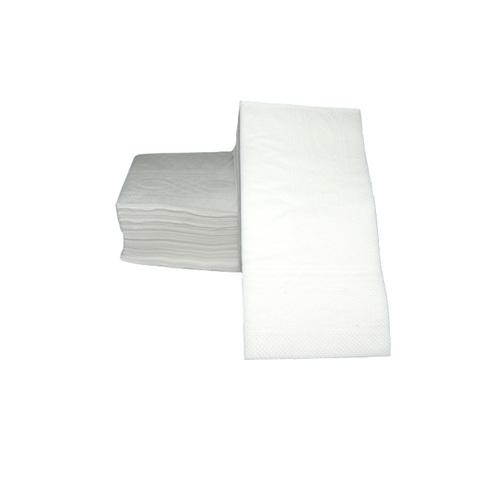 NL012 Салфетки 33*33 см белые двухслойные (1/8 сложение) 100 шт