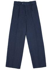 16065 брюки для мальчиков, темно-синие