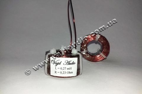 Катушка индуктивности Vajd Audio 0.27 mH*0.23 Ohm*1 mm