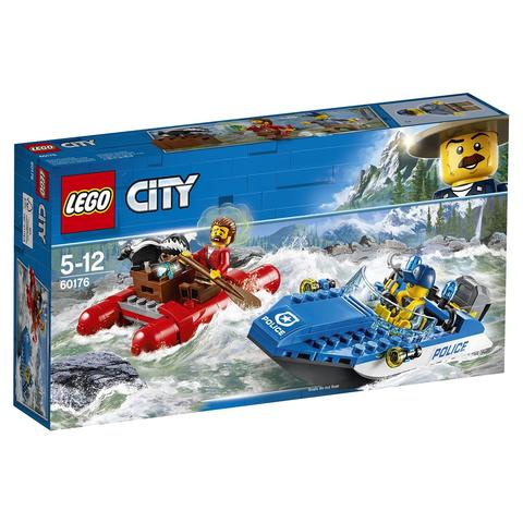 LEGO City: Погоня по горной реке 60176 — Wild River Escape — Лего Сити Город