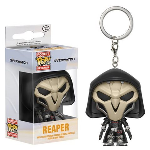 Брелок Жнец || POP! Keychain Overwatch Reaper