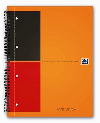 Бизнес-тетрадь International ActiveBook A4+ (24.8*29.7см) линейка 80л пластиковая обложка