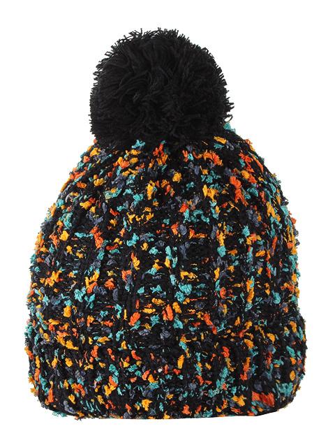 HT1814-2 шапка женская, черная