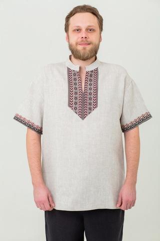 Мужская льняная рубаха Степная