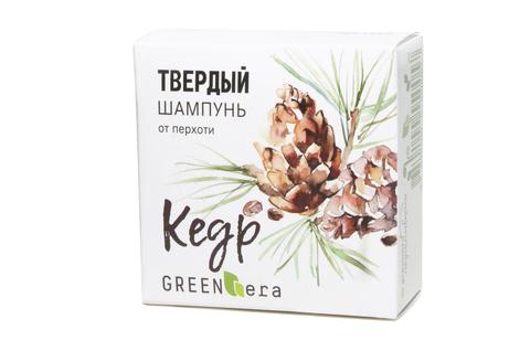 "Шампунь твердый ""Кедр""   55 гр   Green Era"