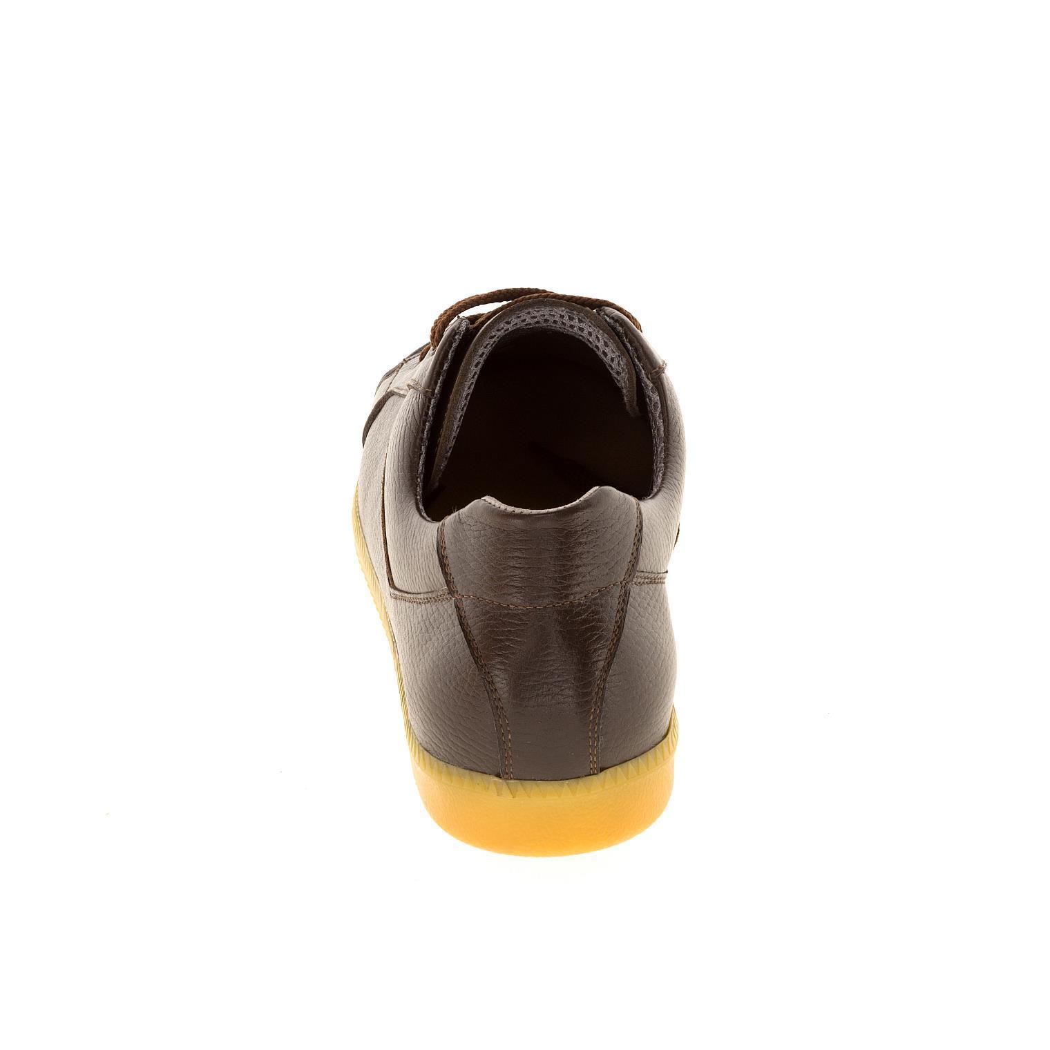 649396 полуботинки мужские Brown больших размеров марки Делфино