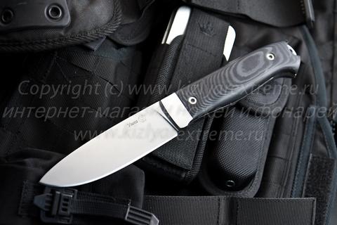 Охотничий нож Умка z160 Полированный Микарта