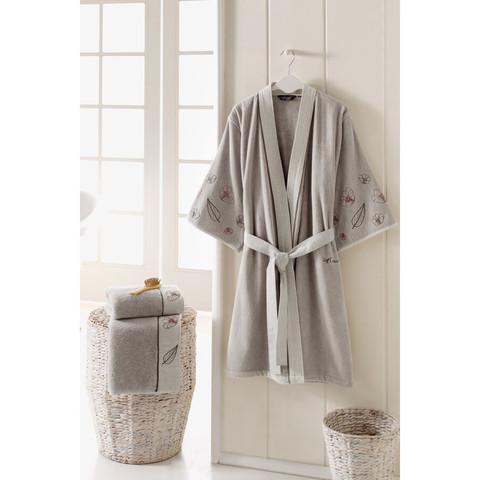 FLORA махровый женский халат Soft Cotton (Турция)