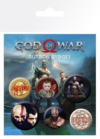 Набор значков God Of War