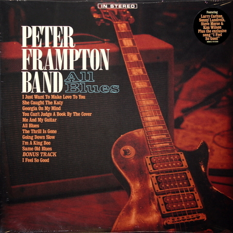 Peter Frampton Band ‎/ All Blues (2LP)