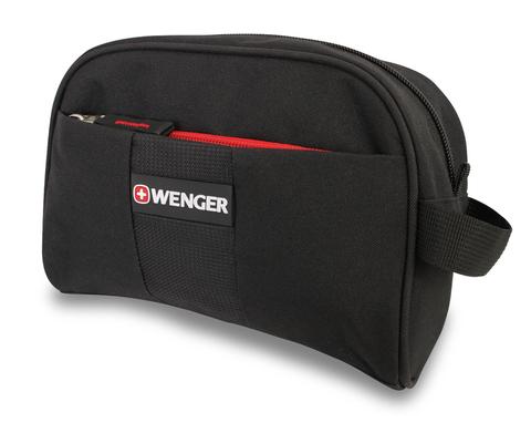 Несессер WENGER, чёрный, полиэстер, 20х7х16см