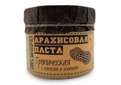 Паста арахисовая с кокосом и изюмом Благодар, 300г