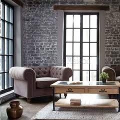 Кресло Secret De Maison Chesterfield (mod. 5137-20) — серый