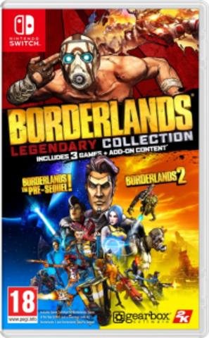 NS: Borderlands Legendary Collection (английская версия)