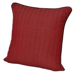 Элитная подушка декоративная Rhode Island Plain красная от Casual Avenue