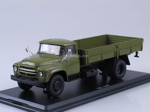 ZIL-130G long wheelbase early khaki 1:43 Start Scale Models (SSM)