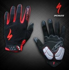 Велосипедные перчатки Specialized длинные (черные)
