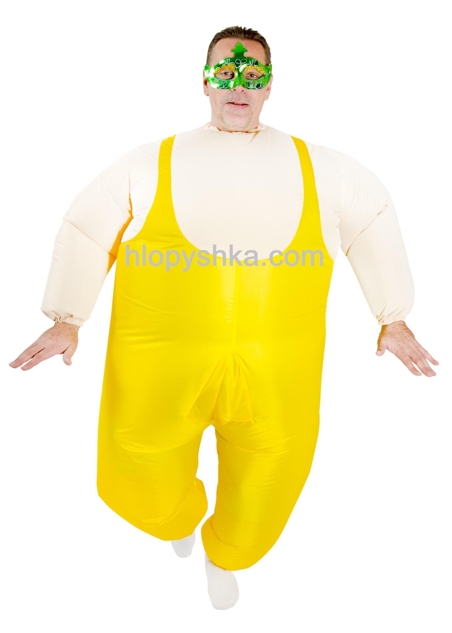 Надувной костюм Балерун