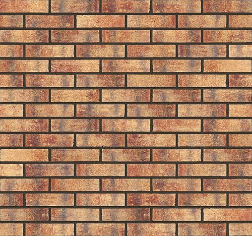 Плитка для фасада и внутренней отделки King Klinker, Rainbow brick (HF15), Old Castle, 240x71x10, NF