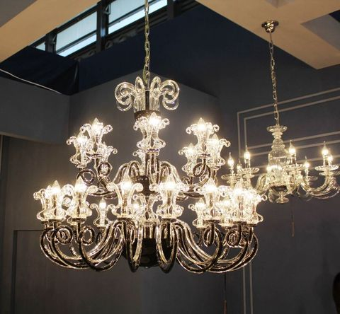 murano chandelier 12- 26 by Arlecchino Arts ( HK)