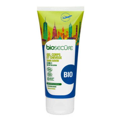 Очищающий гель для тела и волос Bio Secure, 100 мл