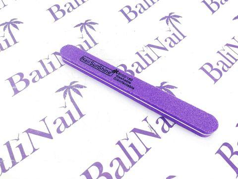 Пилка-баф SunShine 100/180 (фиолетовая) прямая