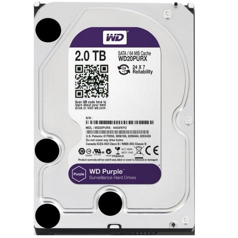 Специализированный HDD 2Tb SATA-3 Western Digital