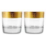 Набор стаканов для виски 397 мл Hommage Gold Classic, артикул 120624-2, производитель - Zwiesel 1872