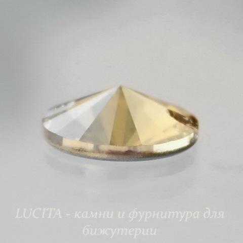 3200 Пришивные стразы Сваровски Crystal Golden Shadow (12 мм) (3200-3)