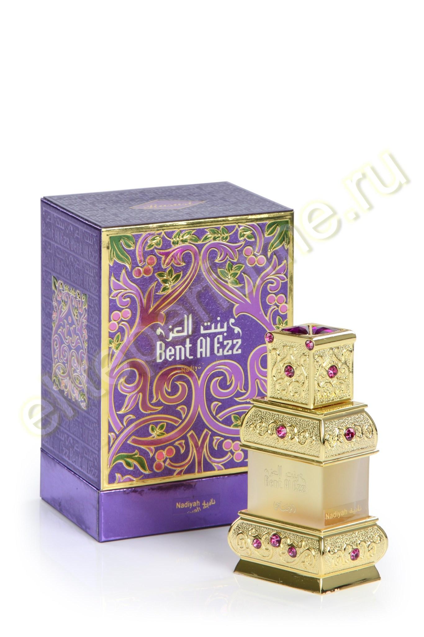 Арабские духи Бент Аль Эзз Надия Bent Al-Ezz Nadiyah 18 мл арабские масляные духи от Расаси Rasasi Perfumes
