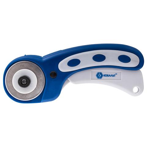 Нож технический КОБАЛЬТ круговое лезвие 45 мм (1 шт.) блистер (245-022)