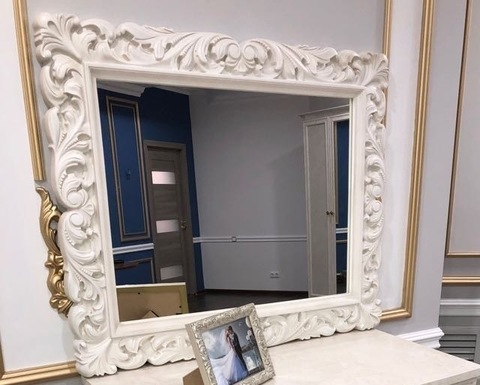 Зеркало БЕАТРИС крем