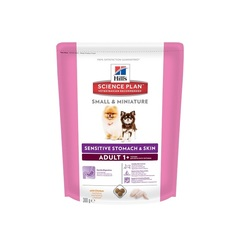 Hill's Science Plan Sensitive Stomach & Skin сухой корм для собак мелких и миниатюрных пород с курицей